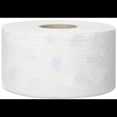 Tork toalettpapír T2 mini Jumbo Premium extra soft, 3r., fehér, 120m/tek, 12tek/#