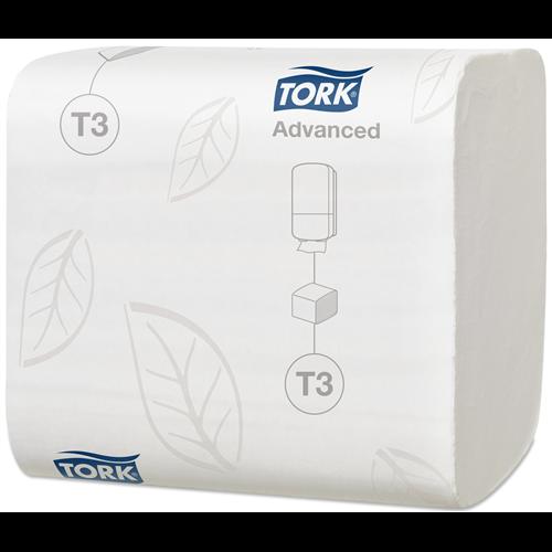 Tork hajtogatott toalettpapír Advanced 252lap/csg, 36csg/#