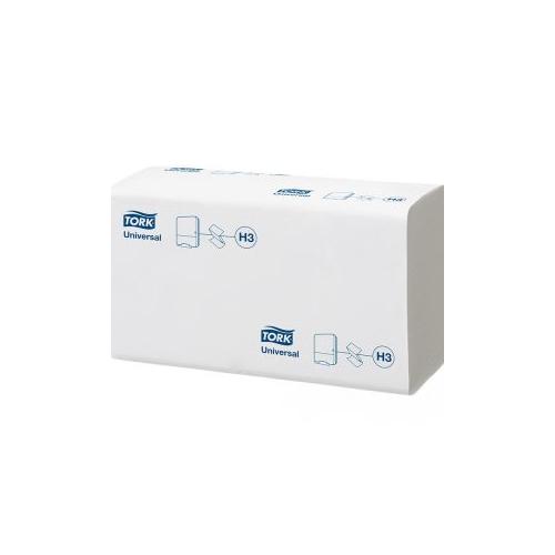 Tork kéztörlő H3 Z hajtogatású Universal - 1r., fehér, 250 lap/csg, 20 csg/#