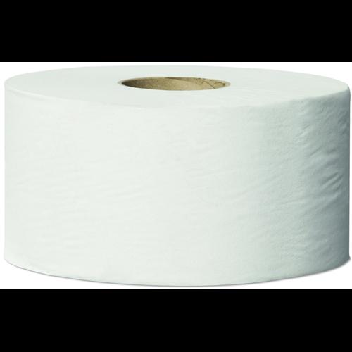 Tork toalettpapír T2 mini Jumbo Universal - 1 rétegű, törtfehér, 240m/tek, 12tek/#