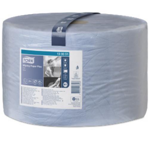 Tork ipari papír W1 Advanced 420, 2r., kék, 510m/tek