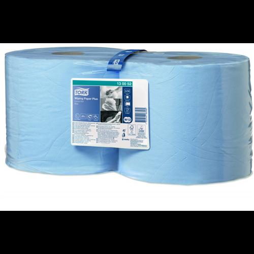 Tork ipari papír W1/W2 Advanced 420, 2r., kék, 255m/tek, 2tek/#