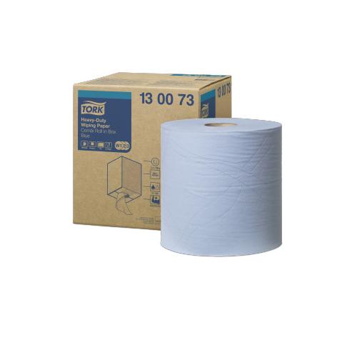 Tork ipari papír Advanced törlő 430 W1/W2/W3, 2r., 170m/tek, kék
