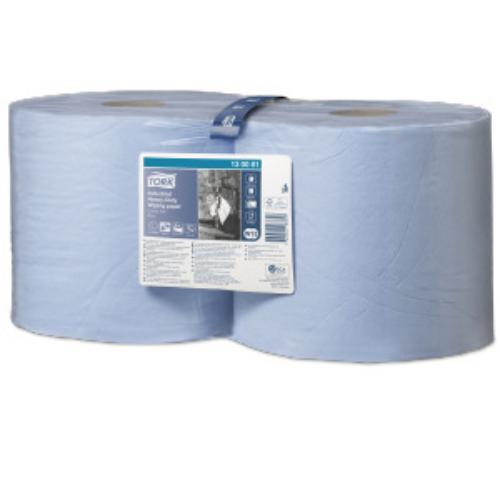 Tork ipari nagyteljesítményű törlőpapír W1/W2, kék, kombi tekercses, 3r., 119m/tek, 2tek/#