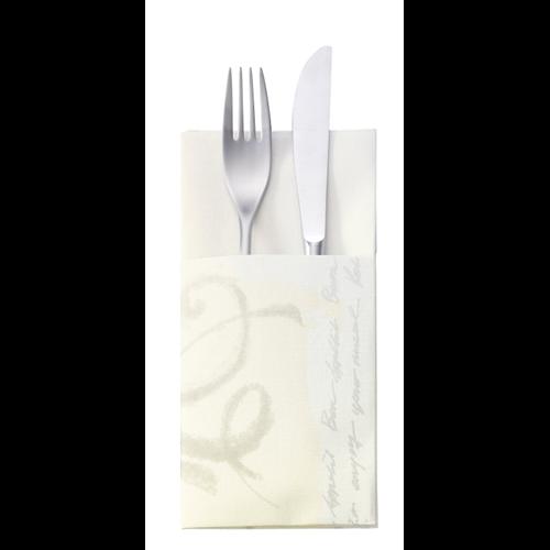 Tork evőeszköztartó Advanced, Bon Appétit, mintás, 200lap/csg, 6csg/#