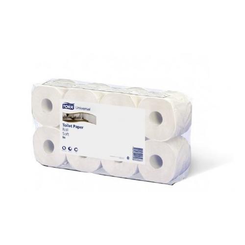 Tork toalettpapír T4 kistekercses Advanced 2r., fehér, 31,75m/tek, 250 lap, 8tek/csg, 8csg/#
