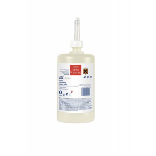 Tork folyékony szappan S1 Premium kézfertőtlenítő 1L, 6db/#