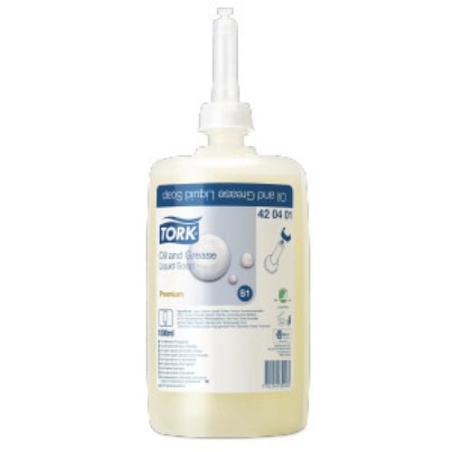 Tork folyékony szappan S1 Premium ipari, 1L/db, 6db/#