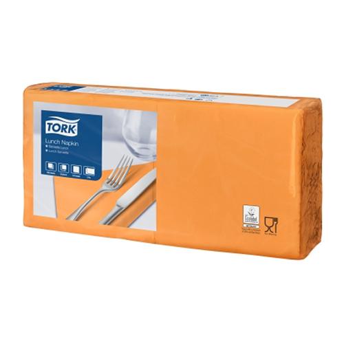 Tork szalvéta Lunch Advanced 33/2 NARANCS, 200 lap/csg, 10csg/#