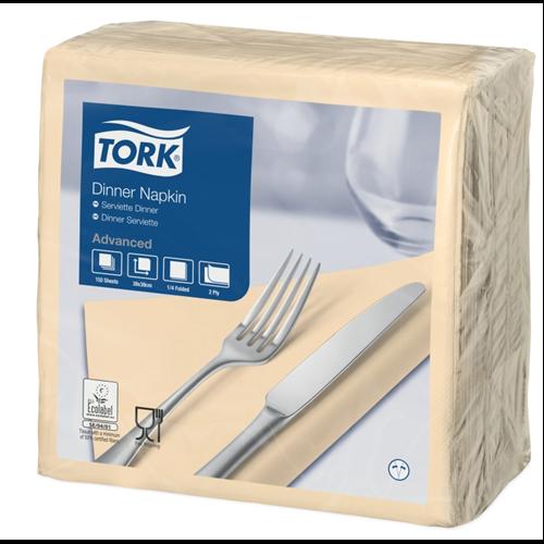 Tork szalvéta Dinner Advanced 39X39, CSONT, 150 lap/csg, 12csg/#