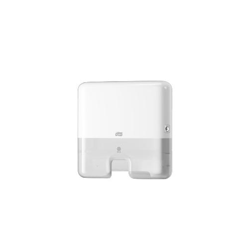 Tork adagoló H2 mini Interfolded hajtású kéztörlőkhöz - ütésálló műnyag, fehér