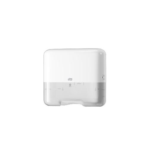 Tork adagoló H3 mini Z és C hajtású kéztörlőkhöz - ütésálló műnyag, fehér