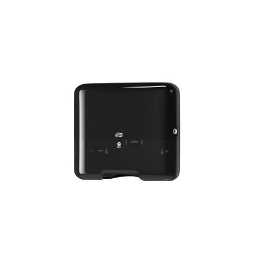 Tork adagoló H3 mini Z és C hajtású kéztörlőkhöz - ütésálló műnyag, fekete