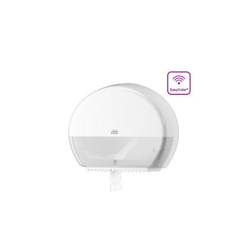 Tork adagoló toalettpapír T2 Jumbo, mini - ütésálló műanyag, fehér