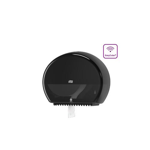 Tork adagoló toalettpapír T2 Jumbo, mini - ütésálló műanyag, fekete