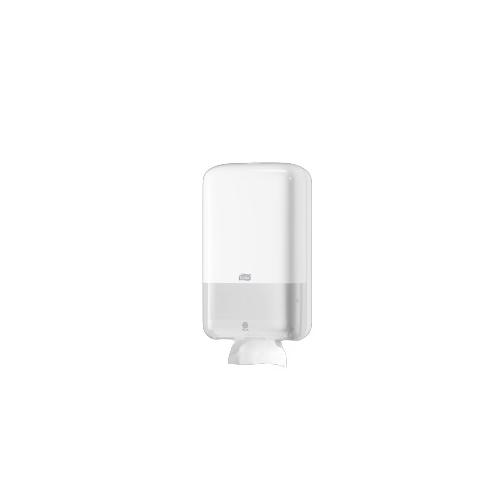 Tork adagoló toalettpapír T3, hajtogatott - ütésálló műanyag, fehér