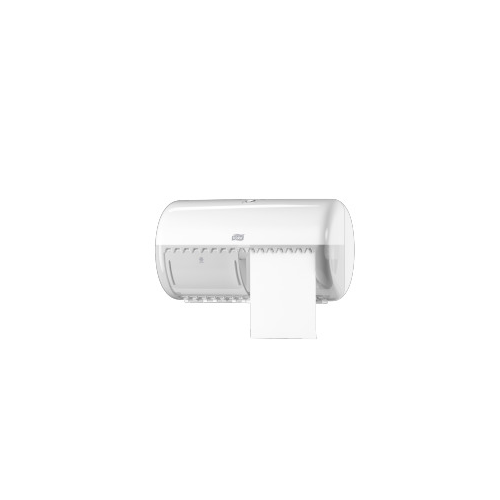 Tork adagoló toalettpapír T4 , kistekercses, ütésálló műanyag, fehér