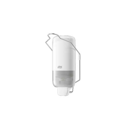 Tork adagoló folyékony szappan S1 - ütésálló műanyag, fehér, könyökkarral