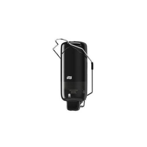 Tork adagoló folyékony szappan S1 - ütésálló műanyag, fekete, könyökkarral