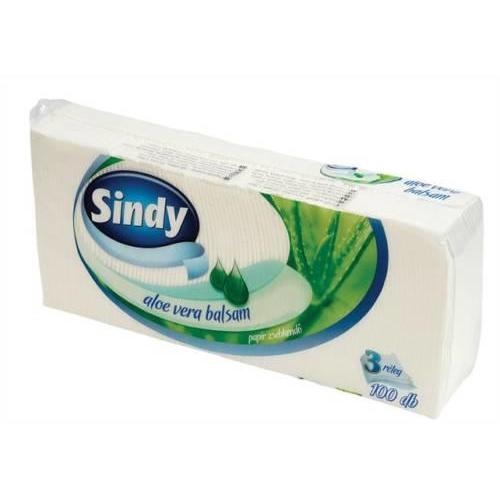 Sindy papírzsebkendő classic  3r., 100db/csg, 60csg/#