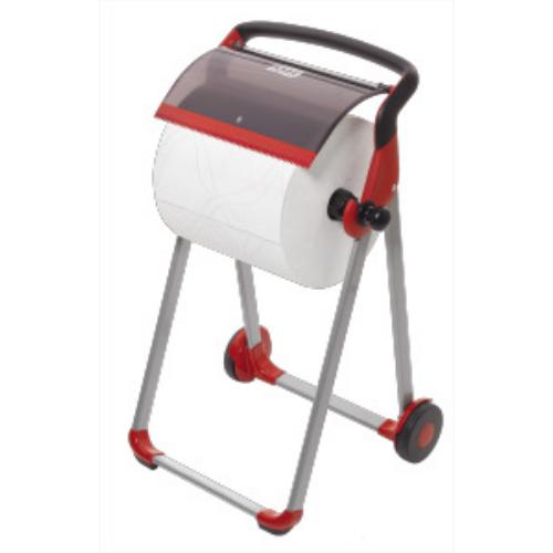 Tork adagoló Performance hordozható állvány piros/fekete