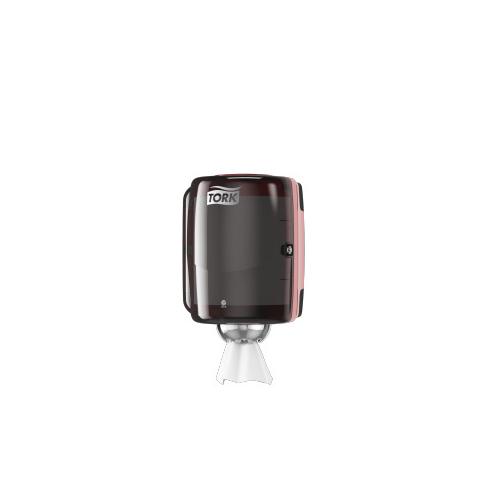 Tork adagoló M2 belsőmag adagolású tekercsekhez - ütésálló műanyag, fekete, türkiz