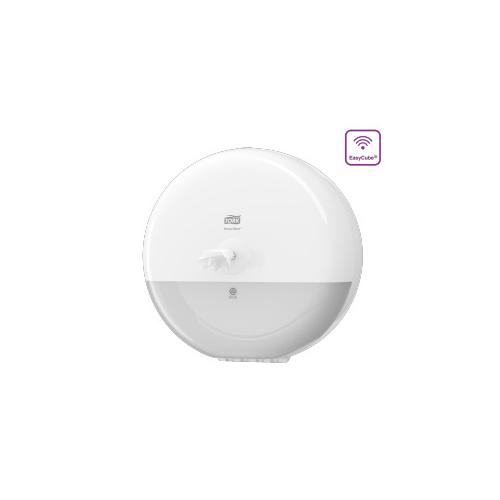 Tork adagoló toalettpapír T8 SmartOne - ütésálló műanyag, fehér