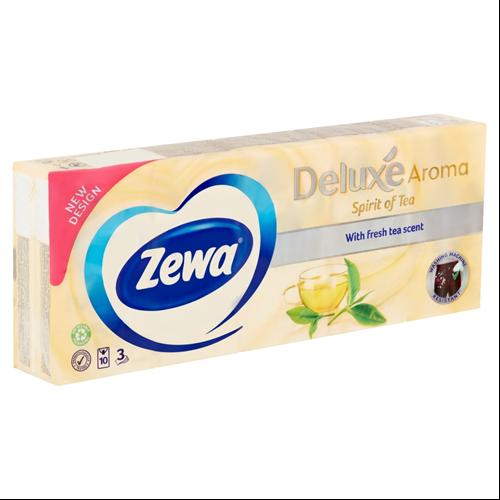 Zewa zsebkendő 10X10DB/CSG, 3r., Spirit of Tea, 24csg/#