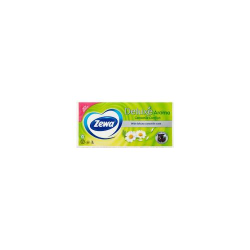 Zewa zsebkendő 10X10DB/CSG, 3r.,Camomile Comfort, 24csg/#