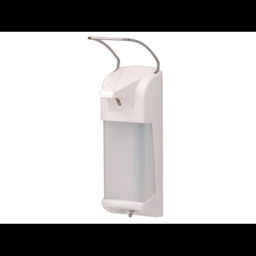 Merida D11 Plastic kézfertőtlenítő adagoló fémkaros, utántölthető 1L