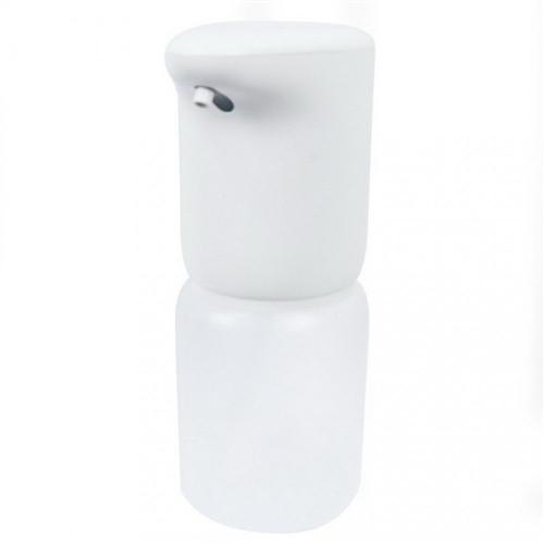 Szenzoros folyékony szappan és gél adagoló, asztali, beépített akkumulátorral, 400ml